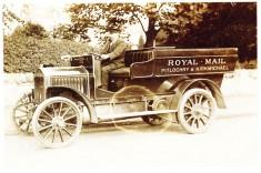 Royal Mail Vehicle and Postman