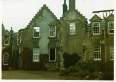 Dalmunzie Destroyed by Fire 1