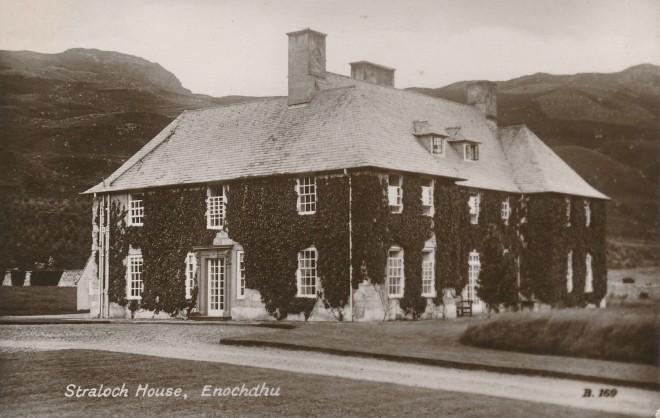 'Straloch House, Enochdhu'.