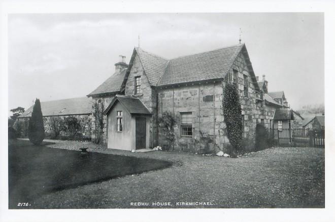 'Redhu House, Kirkmichael'.
