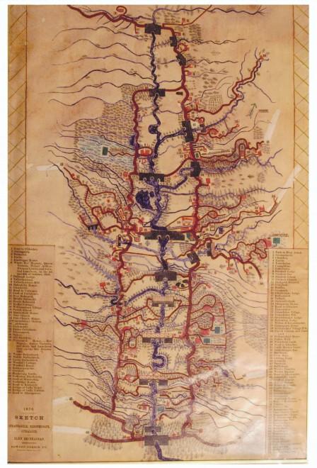 Strathardle Map of 1870