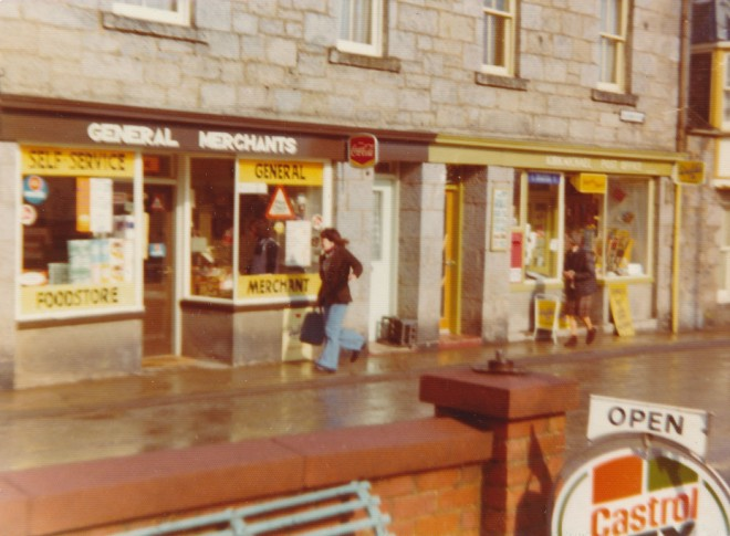The general store in the 1970's
