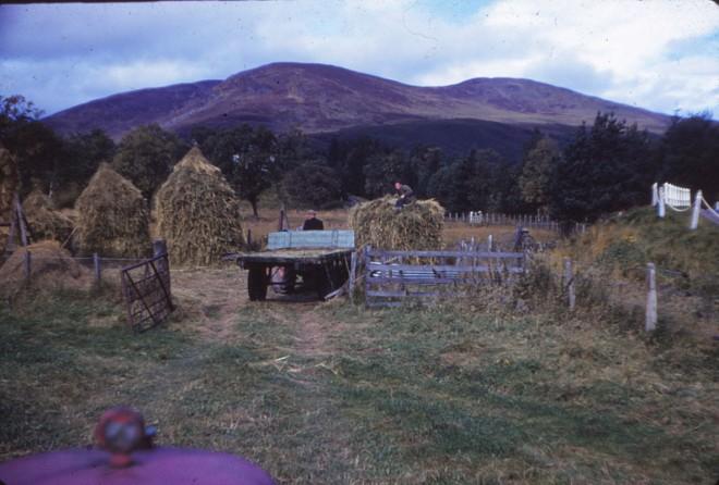 Farming at Dalmunzie.