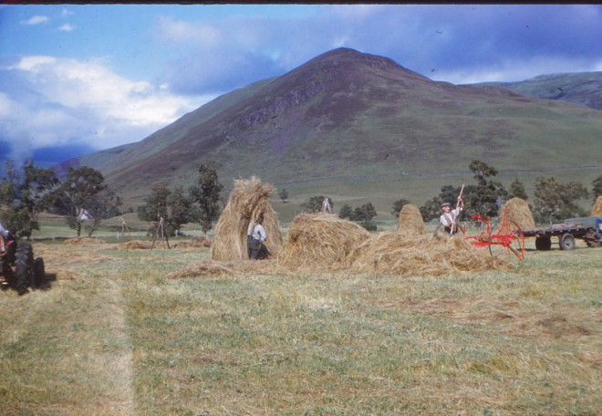Farming at Dalmunzie.