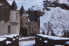 Winter at Dalmunzie