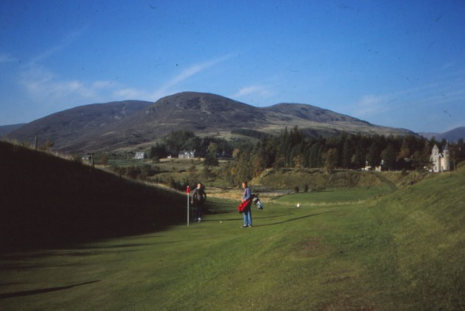 Dalmunzie Golf Course.