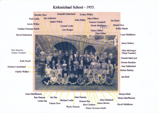 Photograph of Primary School pupils,1955.
