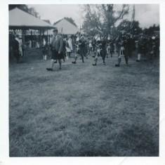 Strathardle Gathering (b+w)