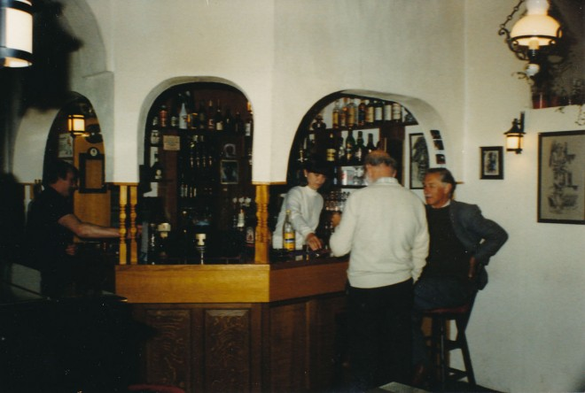 One of the bars in the Blackwater Inn.