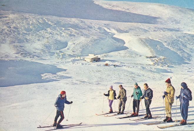 Skiing at Glenshee c1975
