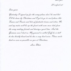 Letter Home (1/5)