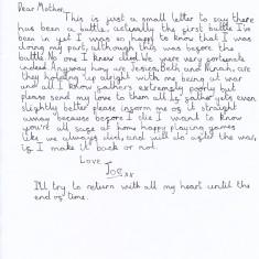 Letter Home (3/5)