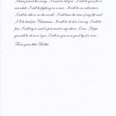 Letter Home (5/5)