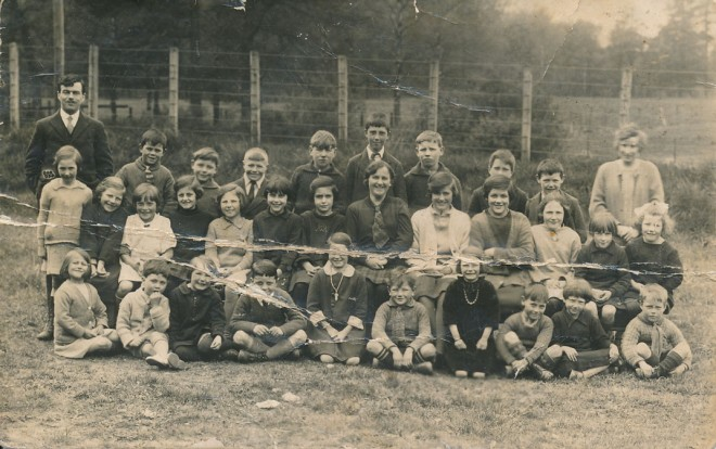 c.1930. The children's names are written on the back (next photo).