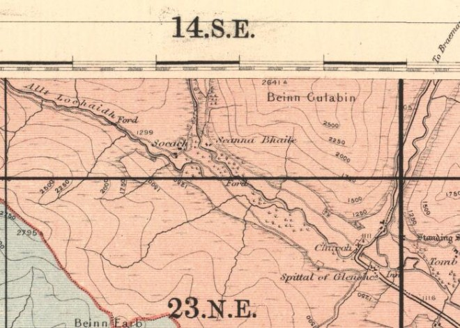 O S  Map 1895