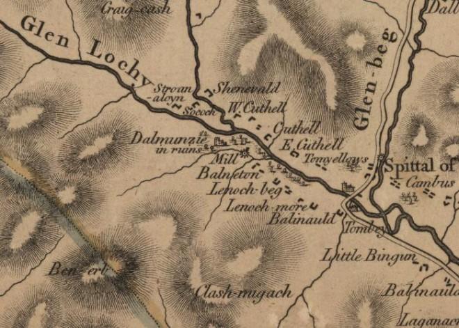 Stobie Map 1783