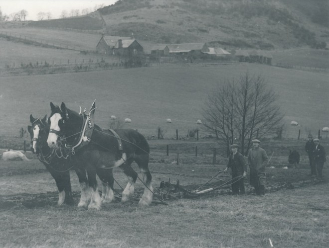 Strathardle Ploughing match 1938