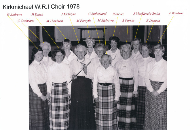 WRI choir  1978