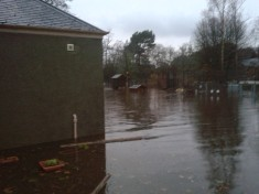 School floods