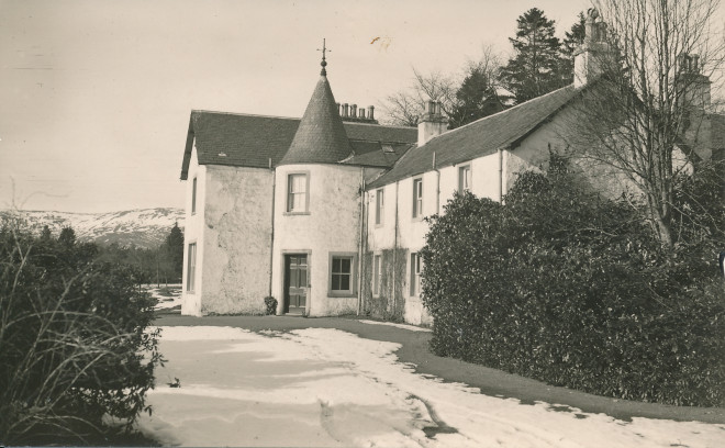 Inverchroskie House near Enochdhu