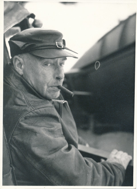 Balfour - he seemed to enjoy his vehicles!