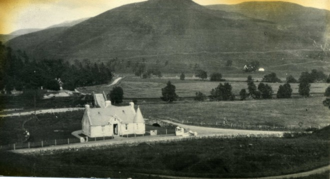 Entrance lodge to Dalmunzie Estate at the Spittal of Glenshee