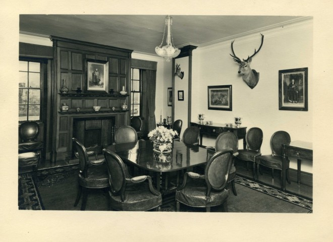 Inside Dalmunzie House