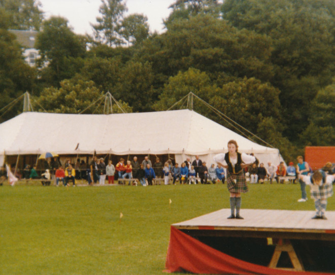 Dancing competition 1989