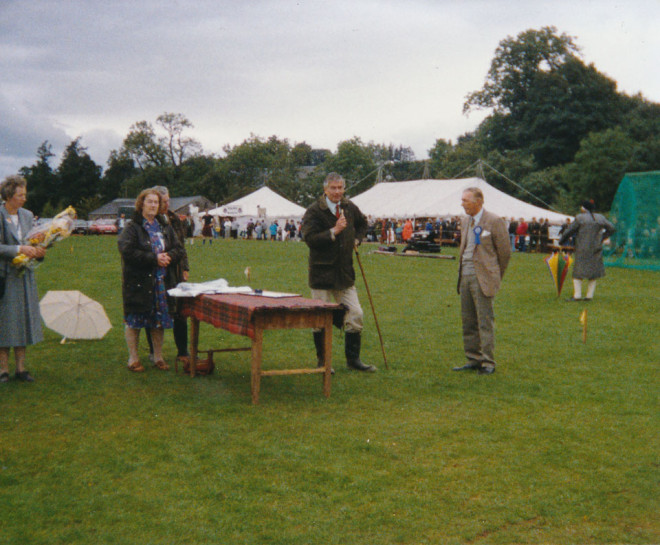 Awards table 1989.  Agricultural prize 1