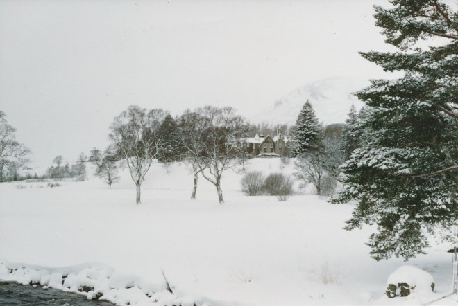 Mid winter on Dalmunzie Estate