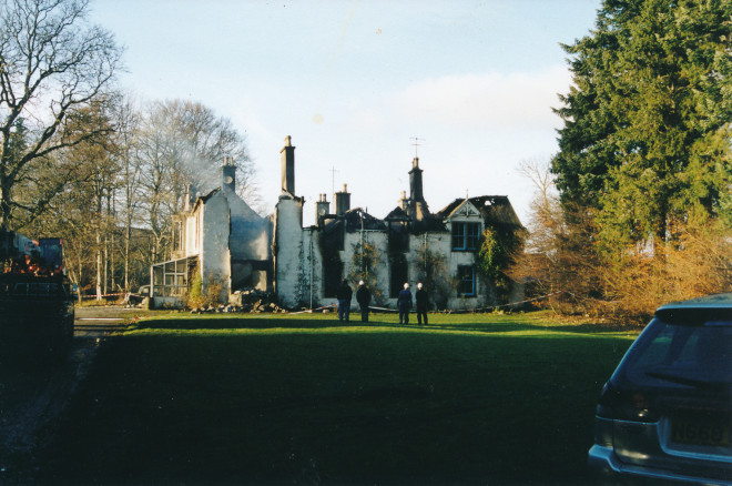 Balnakilly after the fire