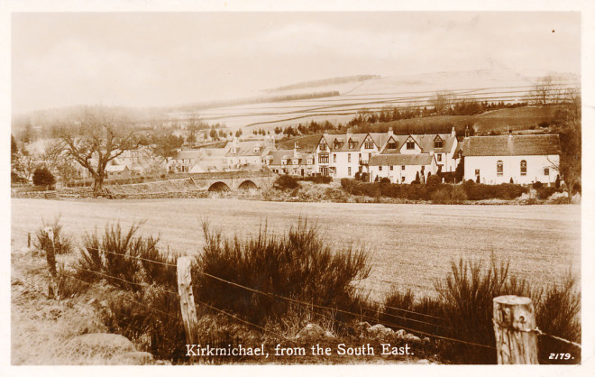 Kirkmichael from the South East