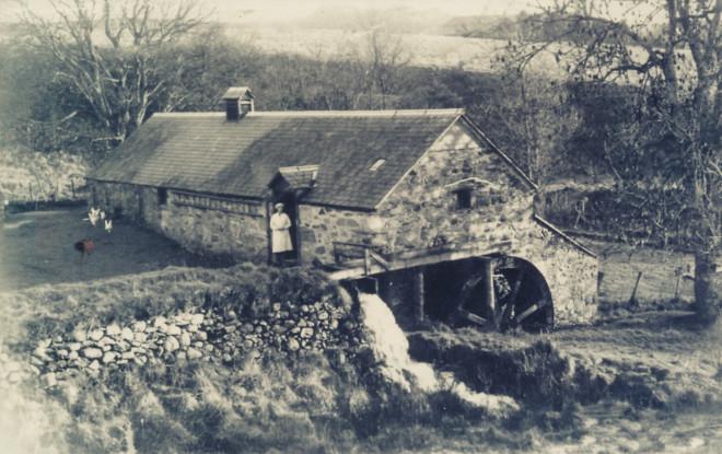 Dounie Mill c1955