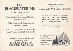 Blackwater Inn brochures