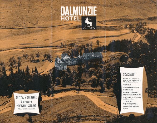 Dalmunzie Hotel brochures
