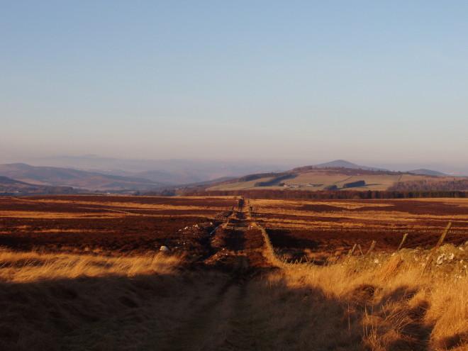 The Cateran Trail taken 2006