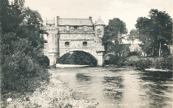 The bridge over the Ardle1895 taken from a postcard