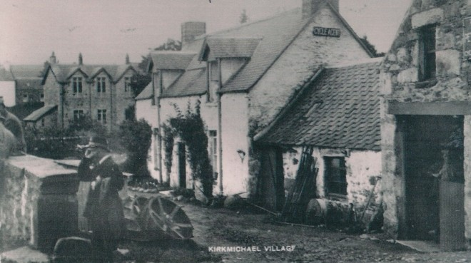 The Smithy, Main Street, demolished in 1958