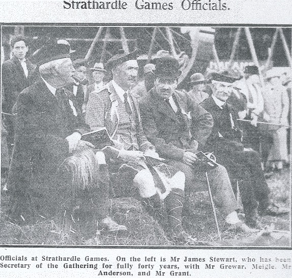Games officials 1925