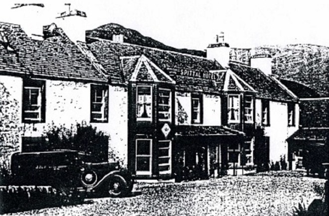The Invercauld Arms and the Spittal Hotel