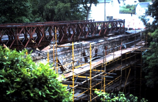 Bridge Repairs at Bridge of Cally