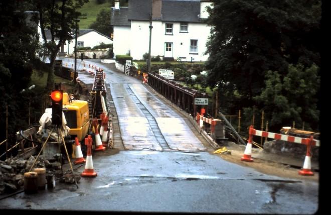 Bridge Repairs at Bridge of Cally
