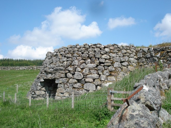 Limekiln  near Whitefield Castle