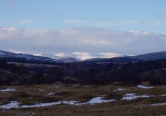 Views up Glenshee