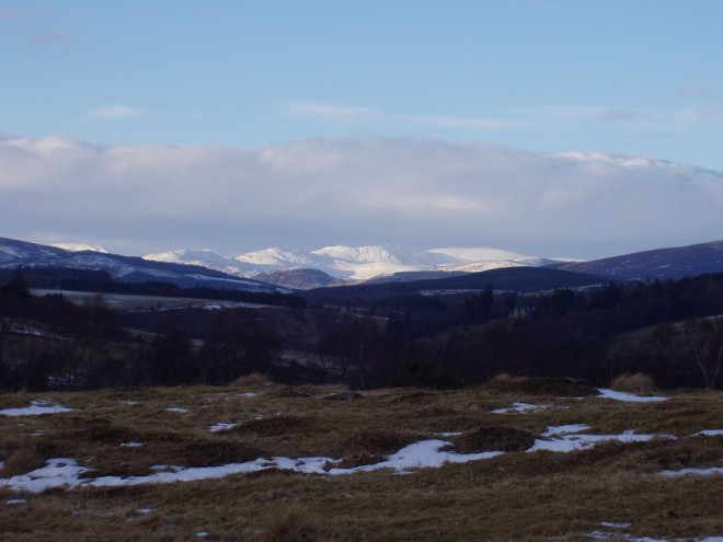 A view up Glenshee in March 2006