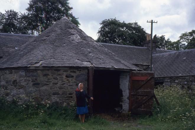 Dounie Threshing Mill  1972