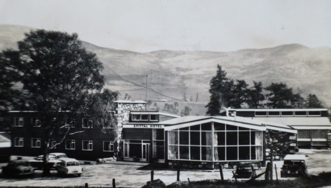 The Spittal of Glenshee Hotel in 1970's