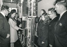 Opening of the Telephone Exchange