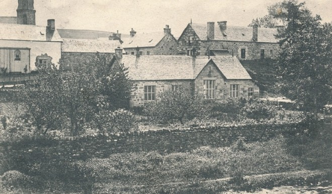Kirkmichael School, single storey at this point