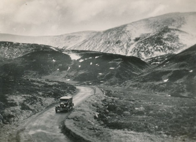 The road through Glen Beag